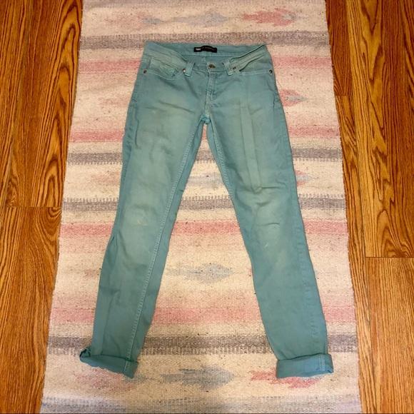 Levi's Denim - Levi's robins egg blue colored jeans